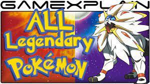 All Legendary Pokémon Locations in Pokémon Sun & Moon (Guide & Walkthrough)  - YouTube