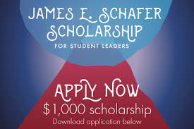 scholarships university memorial center university of  james e schafer scholarship