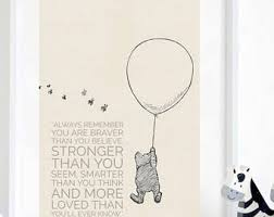 Christopher Robin Quotes Delectable Christopher Robin Etsy
