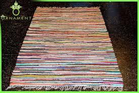 Fleckerlteppich Handgewebt 300 x 200 cm Kelim Beidseitig nutzbar ...