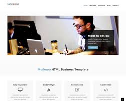 Bootstrap Website Free Bootstrap Template For Corporate Moderna Bootstraptaste