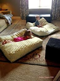 Impressive Oversized Floor Cushions Any Clothing Item Or Blanket Would Be Throughout Creativity Ideas