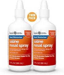 You can easily make your own saline nasal sprays at home for use on adults, children, or even infants. Amazon Com Amazon Basic Care Premium Saline Nasal Moisturizing Spray 6 Ounces Total Health Personal Care