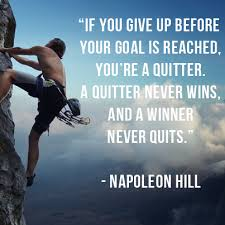 Think And Grow Rich Quotes Beauteous Napoleon Hill Think And Grow Rich Quote One Quitting Http
