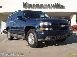 2006 Chevrolet Tahoe Z71 4x4 in Bermuda Blue Metallic - 114043 ...