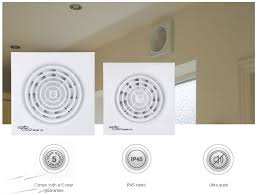 150mm silent kitchen ventilation fan ip45 29w 78 l s whisper quiet extractor fan