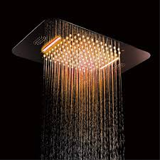 <b>Shower Head LED</b> Light Ceiling SUS304 Bathroom Shower ...
