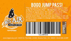 Visit Buena Park Big Air Buena Park Trampoline Park Birthday