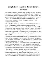 essays scholarship essay at com org sample essay on united nations general assembly