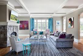 Contemporary Home Decor Accents Interesting Elegant And Contemporary Home In Bold Color By Clean Design