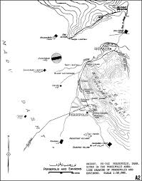 persepolis page capital persian achaemenian empire  sites and environs around persepolis marv dasht and kuh e rahmat