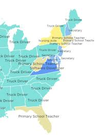 Most Common Job The Most Common Job In Every State Outer Banks Commongood