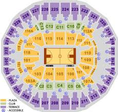 Memphis Grizzlies Stadium Seating Chart Nba Basketball Arenas Memphis Grizzlies Home Arena