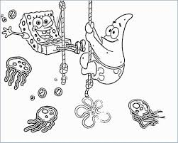 Squidward Coloring Merry Christmas Spongebob Drawings Www