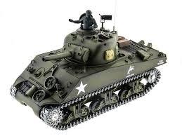 <b>Радиоуправляемый танк Heng Long</b> Sherman M4A3 2.4GHz 1:16