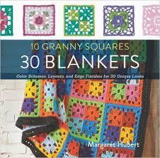 Easy Free Granny Square Crochet Patterns & Choosing Color Layout for Granny Square Crochet Blankets Adamdwight.com