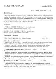 resume opening statement samples