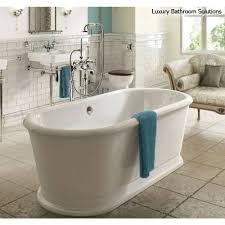 LONDON ROUND SOAKING TUB Luxury Designer Freestanding Acrylic - Luxury bathrooms london