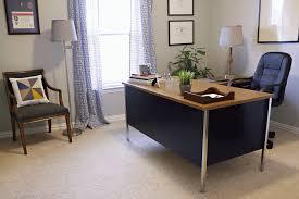 office metal desk. Blue-metal-Mid-mod-desk.gif Office Metal Desk D