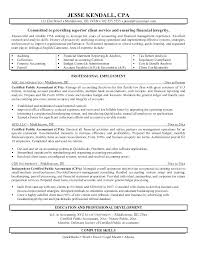 Accounting Resumes Objectives Great Accounting Resume Objectives