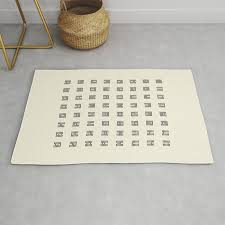 I Ching Chart I Ching Chart With 64 Hexagrams King Wen Sequence Rug By Thothadan