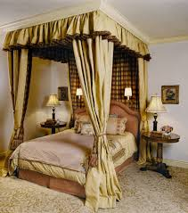 Canopy Bed Crown Molding Canopy Bed Drapes Bedroom Traditional With Bedside Table Canopy