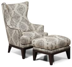 fabulous accent chair with ottoman simon li fabric and set light gray marquis patterned accent chairs s53