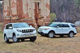 Сравнительный тест Toyota Land Cruiser Prado и Ford Explorer ...