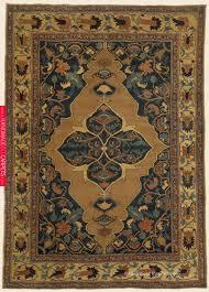 hadji jallili tabriz camelhair northwest persian antique rug 4 3 x 6