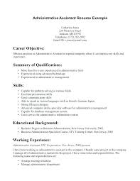 Call Center Objectives For Resume Summary Objective Examples