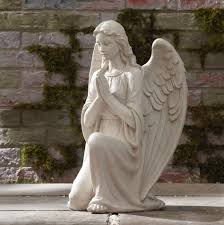 angel garden statue. add ethereal beauty to your garden, porch, or patio with this inspiring angel statue garden