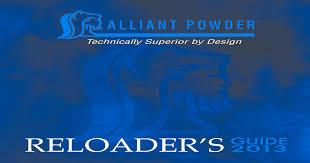 Alliant Powder Reloading Guide