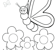 butterfly coloring pages for toddlers. Unique For Coloring Pages For Preschool Butterfly  Colouring Toddlers Free  Throughout