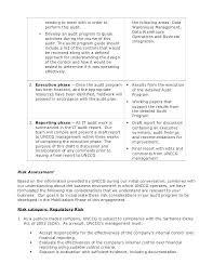 Audit Findings Report Template Audit Findings Report