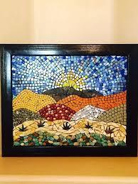 mixed up mosaics mosaic glass pieces mirror