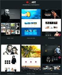 Free And Premium Portfolio Template Gallery Website