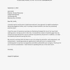Letter Of Interest Vs Resume Letter Of Interest Examples And Format
