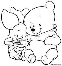 Baby Winnie The Pooh Coloring Pages 569069