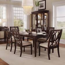 dark wood dining room furniture. Furniture: Dark Wood Dining Room Set Elegant Solid Stripes Lacquered Brown Table Furniture Design With O