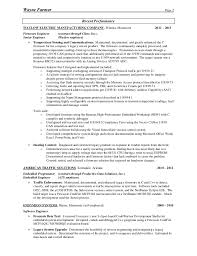 Farmer Resume Delectable Resume For Wayne Farmer PDF