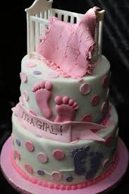 Baby Shower Cake Ideas Girls Its A Girl Ba Shower Cake Amazing Cake