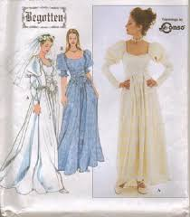 Costume Sewing Patterns Best Renaissance Costume Historical OOP Simplicity Sewing Pattern Ladies