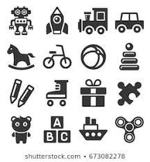 おもちゃ アイコンのイラスト素材画像ベクター画像 Shutterstock