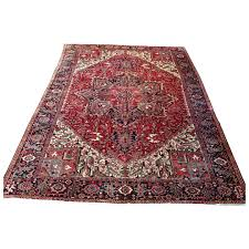 persian rug 1960s hand knotted vintage heriz gorovan 9 8 x 13 jahann and sons persian rugs ruby lane