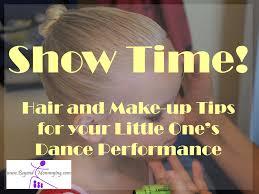 ballet buns and se makeup