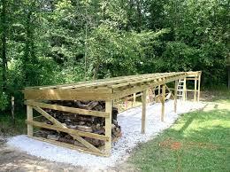 woodhaven log rack wood rack cover outdoor wood rack fireplace rack round firewood rack lumber storage
