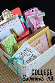 diy college survival gift basket