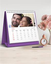 Photo Calander Custom Desk Calendar Online In India