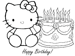 Minnie Mouse Birthday Cake Coloring Pages Free Mouse Colouring Pages