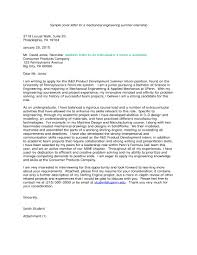 7 Internship Cover Letter Examples Pdf